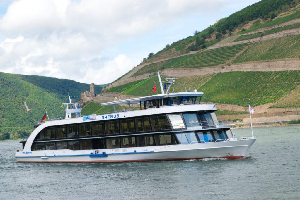 Bingen ist Ausgangspunkt zahlreicher Schiffstouren.